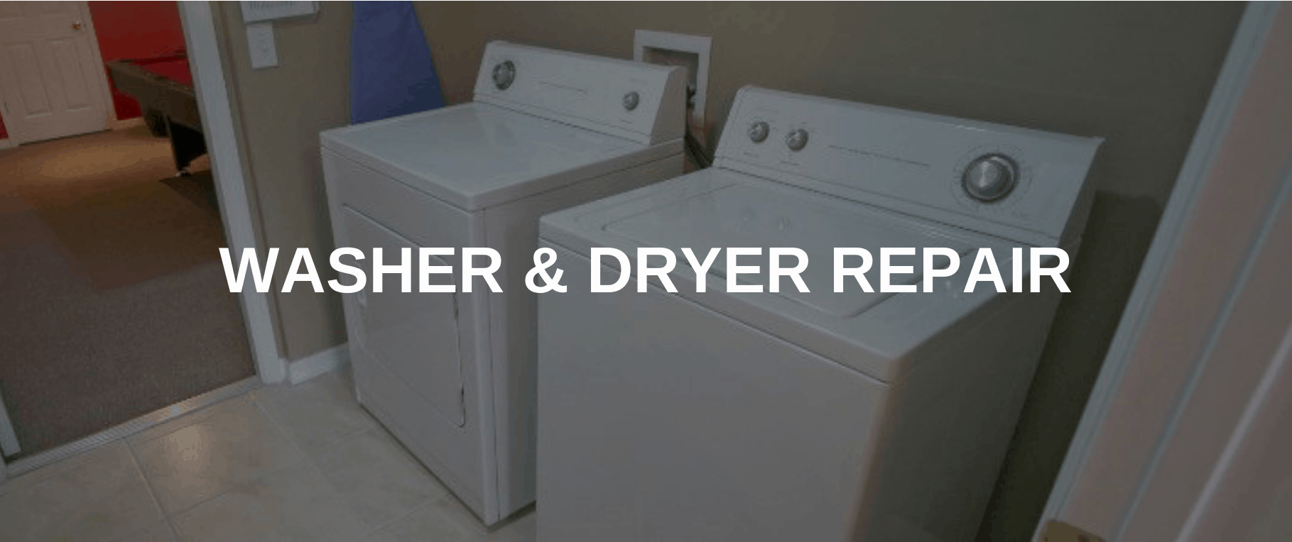 washing machine repair chino hills