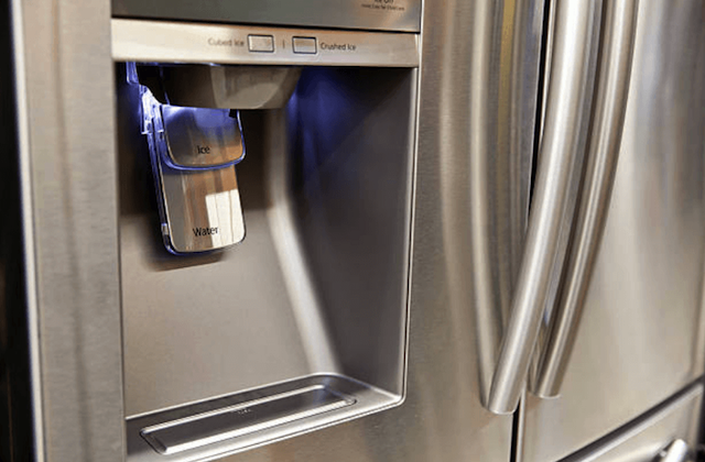 water dispenser of refrigerator image